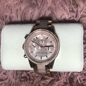 Michael Kors  Ritz Chronograph Crystal Watch